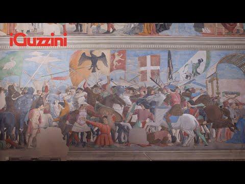 The Legend of the True Cross by Piero della Francesca in the Basilica of San Francesco thumbnail