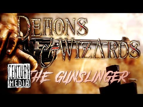 DEMONS & WIZARDS - The Gunslinger (Lyric Video)