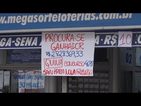 Friburguense sortudo fatura quase R$ 3 milhões na loteria