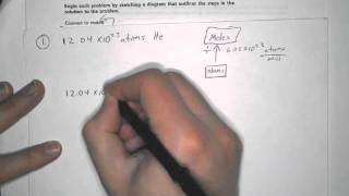 Converting Between Atoms And Moles, 1 Step Problems, SP-9,