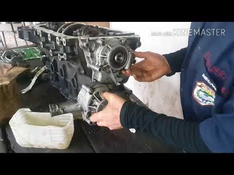 Фото к видео: Reparación de motor toyota 22r