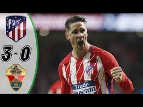 Atletico Madrid Vs Elche 3-0 Highlights And Goals