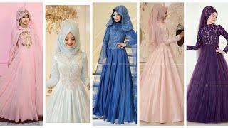 Amazing  Hijab Dresses  For Wedding