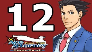 Phoenix Wright Ace Attorney: Justice for All Walkthrough Part 12 - No Commentary Playthrough (3DS)