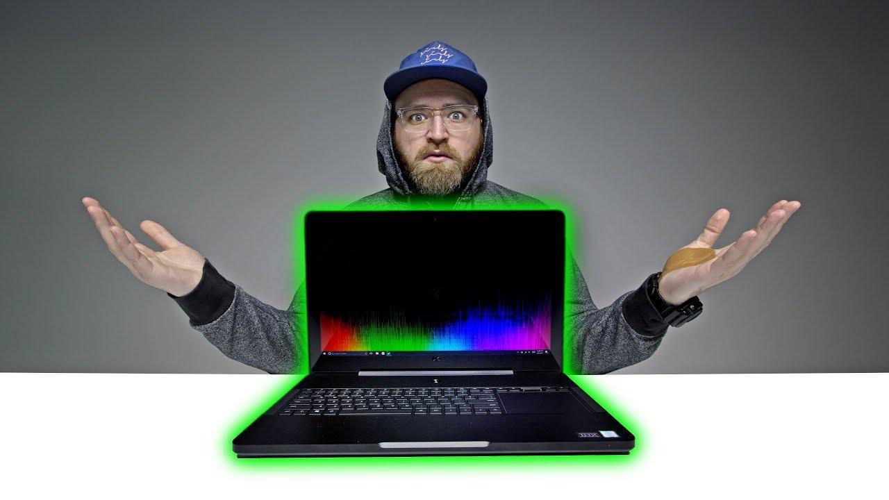 Unboxing The $4000 Razer Gaming Laptop thumbnail