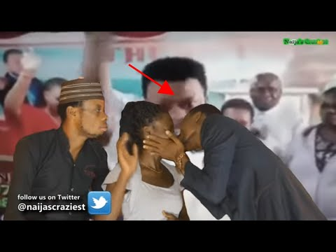 Ghanaian Pastor French Kiss Demons Out Of Female Church Members During Deliverance