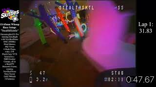 MultiGP International Open: Tiny Whoop Tent Track: FPV Skittles Fastest 2 Consecutive Laps