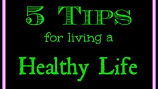 5 TIPS FOR LIVING A HEALTHY LIFE Part-2 II स्वस्थ रहने के 5 नुस्खे भाग-2 II by JYOTSHNA SINGH