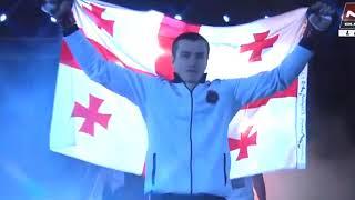 20 летний боец из Грузии  нокаутировал за 10 секунд.Boxing.