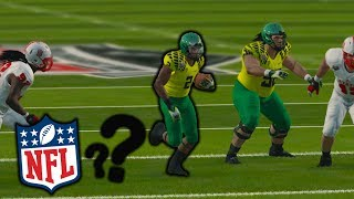 TOP RB DECLARING FOR THE NFL DRAFT??? NCAA 14 ROAD TO GLORY EP. 25