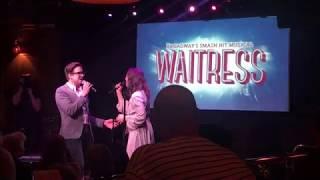 "Sara Bareilles & Gavin Creel sing ""Bad Idea"" from Waitress The Musical"