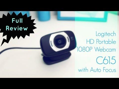 Logitech HD Portable Webcam C615 with Auto Focus ❤ Full Review