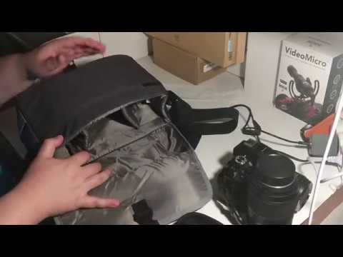 Unboxing - Nikon CF-EU11 camera bag