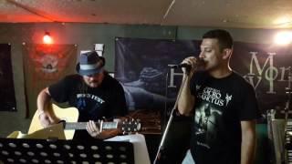RAINFORCE - plays Krokus tribute (Hoodoo Woman, acoustic live)