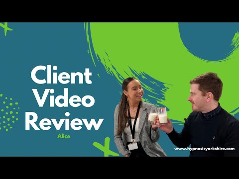 Alice's client testimonial video after overcoming emetophobia in two sessions.