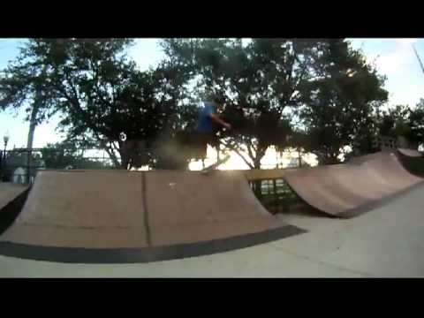 Getting BUCK at the fort myers skatepark