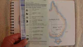 ASMR - Federal Election & Voting - Australian Accent - Chewing Gum & Describing in a Quiet Whisper
