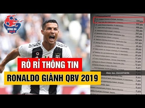 QUẢ BÓNG VÀNG 2019: Lộ HÌNH ẢNH Chứng Tỏ Vẫn Còn HY VỌNG Cho Ronaldo Nhận QBV