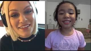 Flashlight Jessiej And Bernice Shane Quirante Sabino 9 Y O Pinay Smule Sing Saipan-cnmi