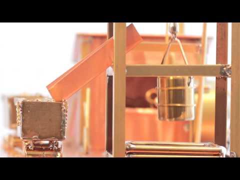 Solar Powered Executive Gold Mine Solarts Executive Gift Series