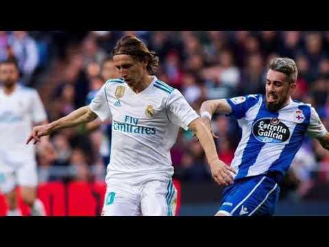 Real Madrid golea al Deportivo y se reanima en La Liga