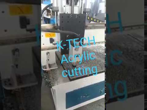 CNC Acrylic Engraving Cutting Machine