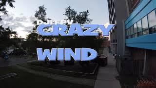 DJI FPV Crazy Wind 4k version remastered