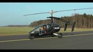 PAL-V Liberty - первый летающий автомобиль