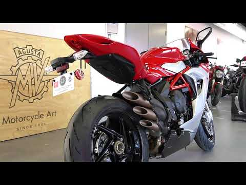 2020 MV Agusta F3 800 in West Allis, Wisconsin - Video 1