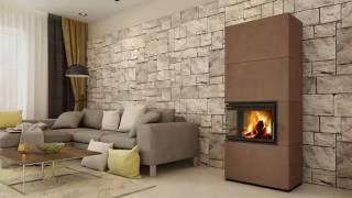Кафельная печь камин ( Каминофен, изразцовая печь ) Hein  SOLID F від компанії House heat - відео