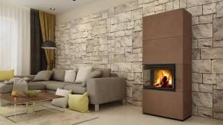 Кафельная печь камин ( Каминофен, изразцовая печь ) Hein  SOLID F Accum від компанії House heat - відео