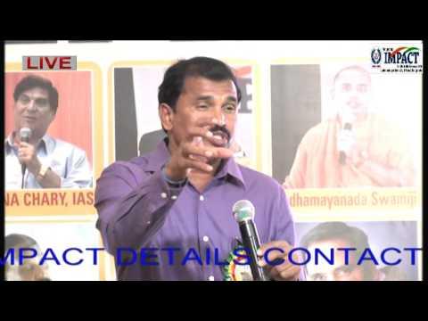 Personality Development|Satyanarayana|TELUGU IMPACT Nalgonda 2016