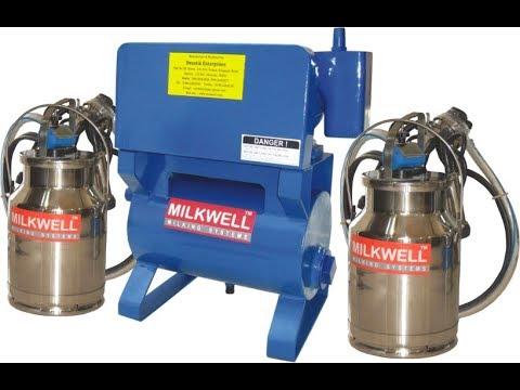 Double Bucket Milking Machine