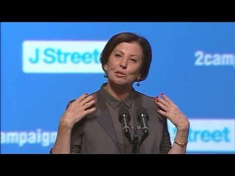 MK Zehava Glaon, J Street Conference 2013