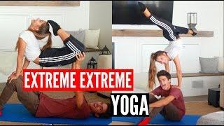 EXTREME YOGA CHALLENGE x2! | Brent Rivera
