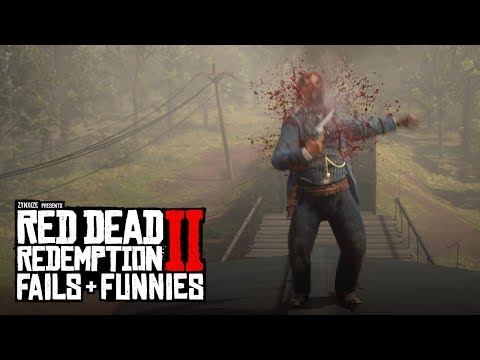 Red Dead Redemption 2 - Fails & Funnies #91