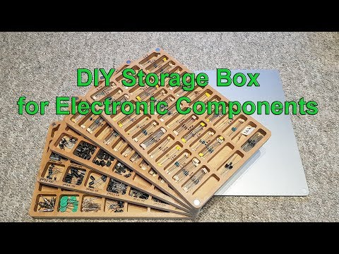 DIY Storage Box for Electronic Components