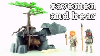 Playmobil Prehistoric Cavemen with Cave Bear 5103 - Playmobil Höhle mit Höhlenmenschen Bär