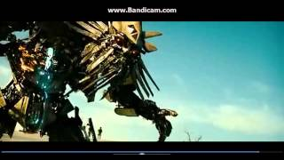 TRANSFORMERS 2 OPTIMUS PRIME VS MEGATRON A THE FALLEN