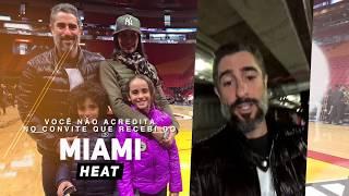Você não acredita no convite que recebi do Miami Heat!