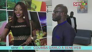 Coumba Gawlo En Visite Dans Les Locaux De Seneweb