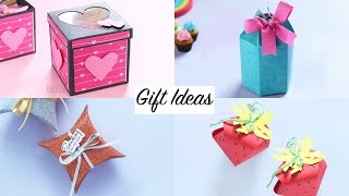4 Easy Gift Ideas | DIY Gift Boxes | Gift Ideas