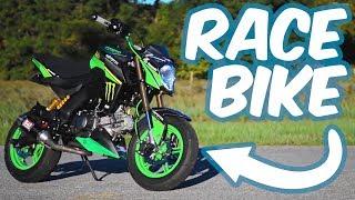 Fully Built Z125 Test Ride   FaithRidingJohnny