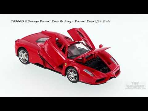 26006D BBurago Race & Play Ferrari Enzo 1/24 scale
