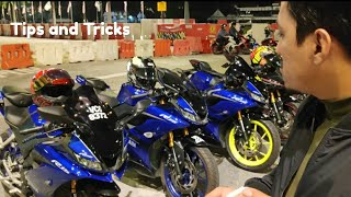 "Yamaha R15_v3 malaysia ( Vlog #10 ) ""  Tips untuk user r15 & akrapovic ekzos"""