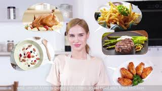 Learn to Easily Make the Best Recipes You Love With 1829 CSS 21-in-1 Air Fryer Combo