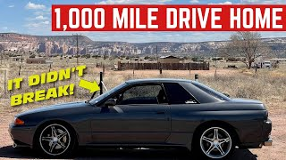 I DROVE My New R32 GT-R Over 1,000 MILES Back Home