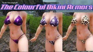 The Colourful Bikini Armors| UNPB Skyrim SE Xbox One Mods