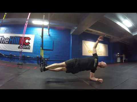 Day 8 of my favorite TRX exercises: The TRX Side Plank with Rotation