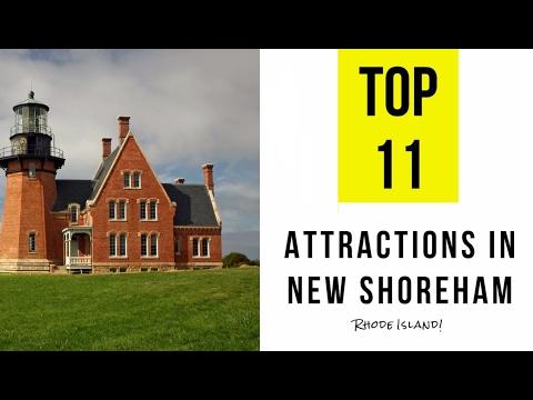 Video Top 11. Best Tourist Attractions in New Shoreham - Rhode Island
